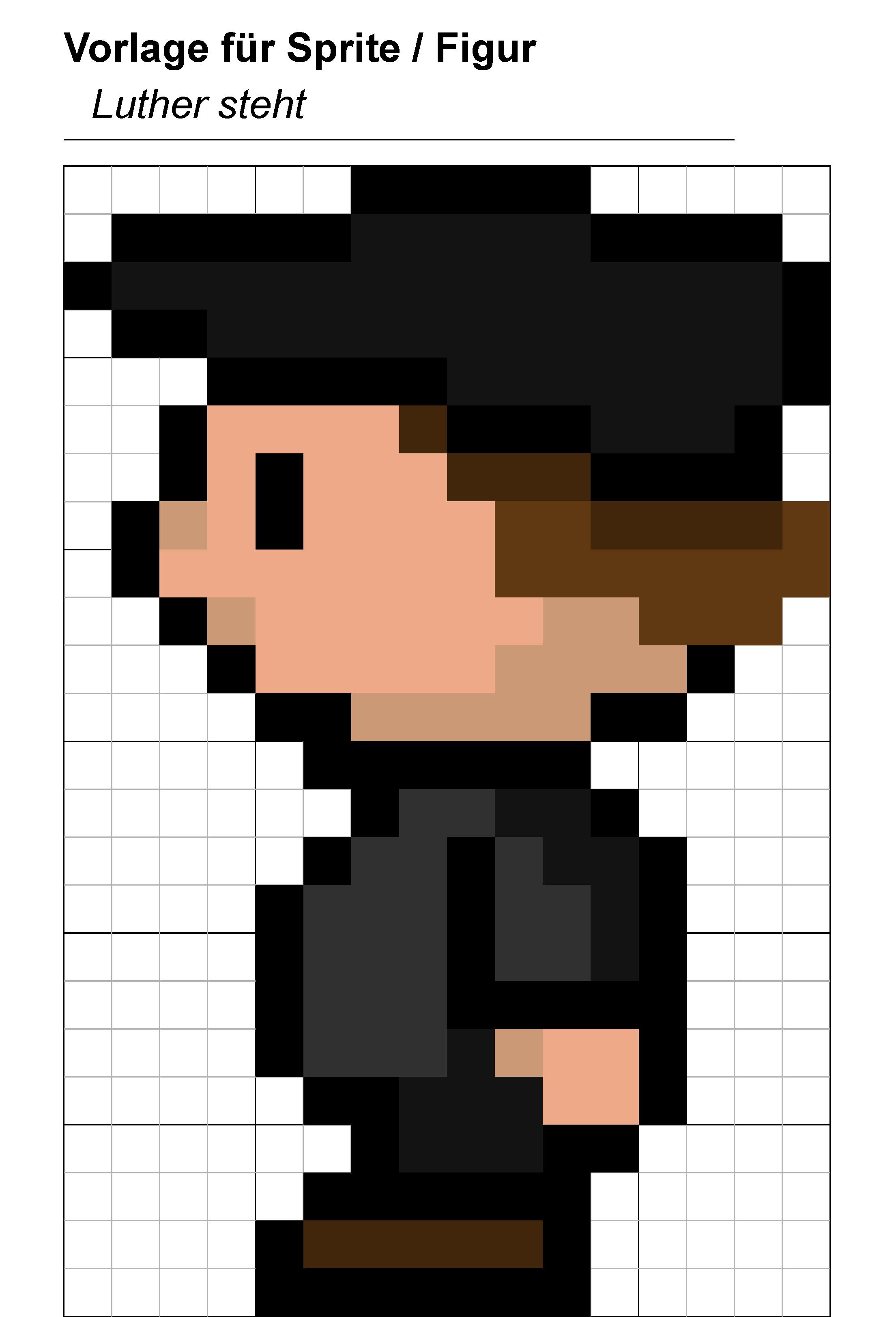 Pixel Figuren Erstellen